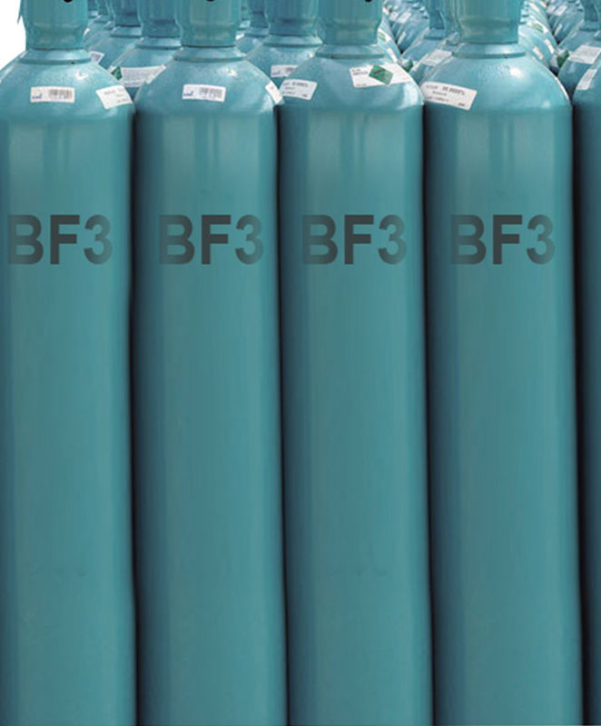 BF3 Boron Trifluoride Gas For Organic Reaction Catalyst CAS NO 7637-07-2