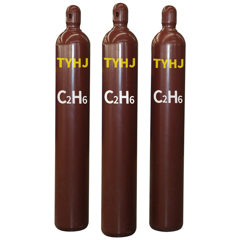 40L 50L Cylinder Filling 99.5% Pure Ethane R170 Gas C2H6 Of Ethane For Refrigerant